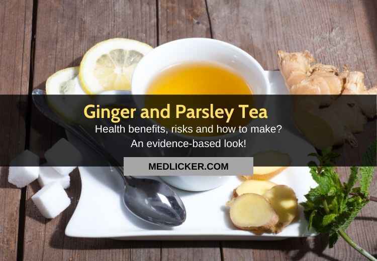 Is giner and parsley tea any good? How to make it?
