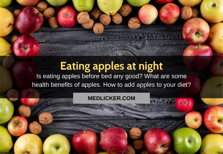 Is it Good to Eat an Apple Before Bed?