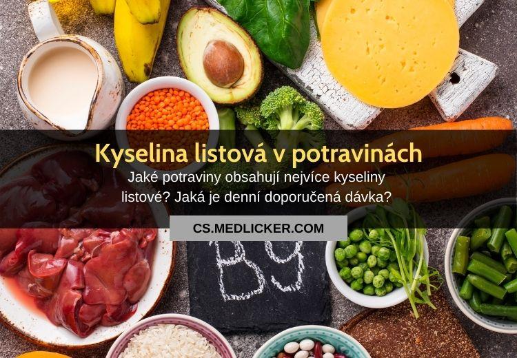 Kyselina listová v potravinách: 15 nejlepších zdrojů