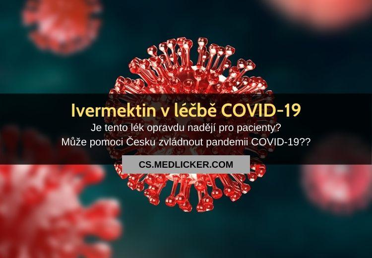COVID-19: Kutná Hora vymřela, pomůže nám ivermektin?