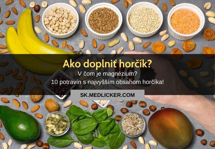 Magnézium v strave: najlepšie potraviny s obsahom horčíka!