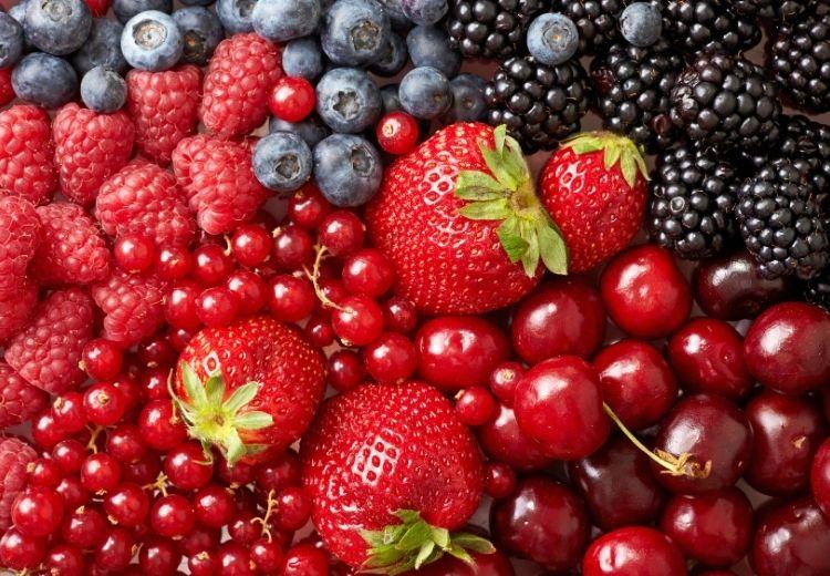 Skvelým zdrojom kvercetínu je bobuľovité ovocie