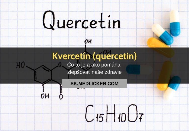 Kvercetín (quercetin): všetko čo potrebujete vedieť