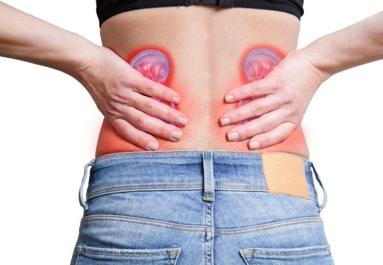 Onemocnění ledvin jsou častou příčinou bolesti v pravém nebo levém boku