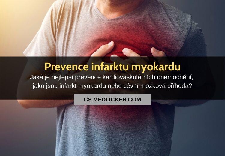 Prevence infarktu myokardu: vše co potřebujete vědět