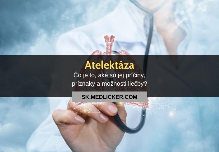 Atelektáza: príčiny, príznaky a liečba