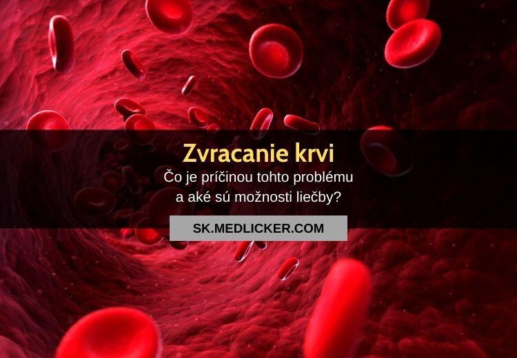 Zvracanie a vykašliavanie krvi: všetko čo potrebujete vedieť!
