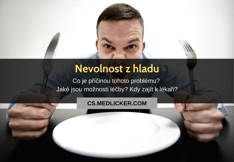 Může hlad způsobit nevolnost? Jak s tímto problémem bojovat?