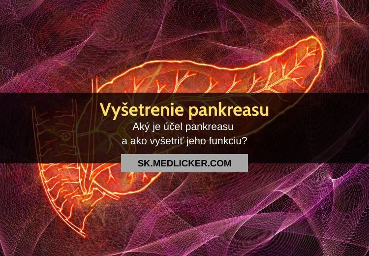 Vyšetrenie pankreasu: všetko čo potrebujete vedieť!