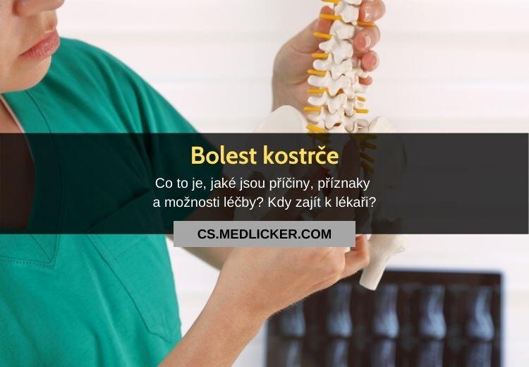 Bolest kostrče (kokcygodynie): vše co potřebujete vědět