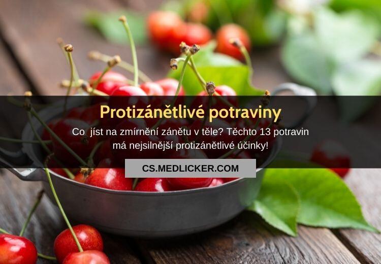 Protizánětlivé potraviny: 13 nejlepších potravin s protizánětlivými účinky