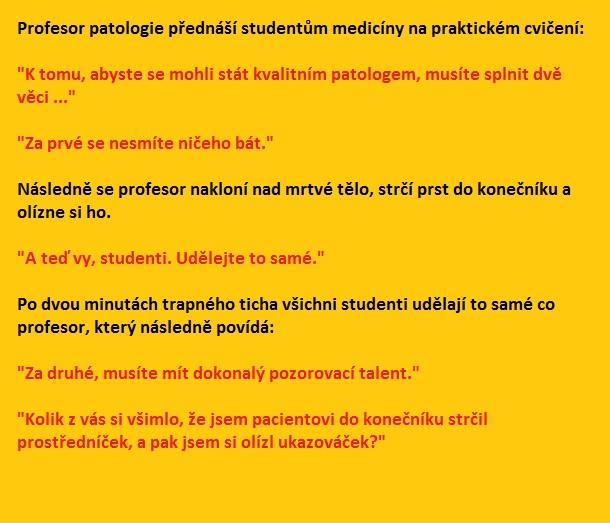 Profesor patologie