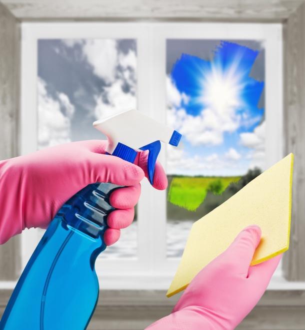Čistící prostředek na okna