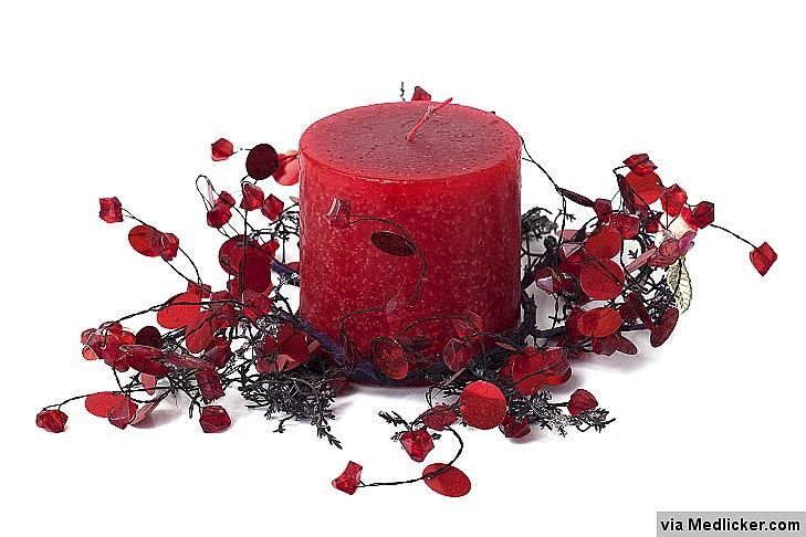 Vonné svíčky mohou vyvolat alergii