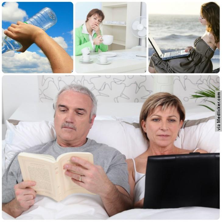 Příčiny únavy - nedostatek vody, dlouhé ponocování, práce o dovolené, chytré telefony a počítače v posteli
