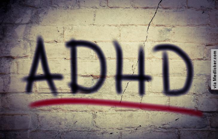 ADHD: porucha pozornosti s hyperaktivitou u detí