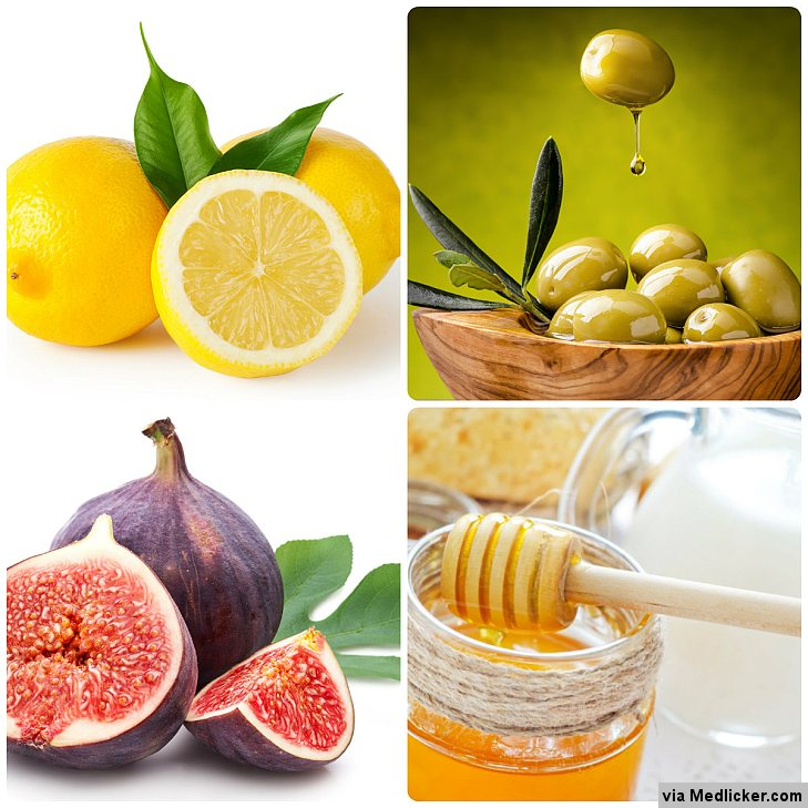 Home remedies for constipation - Lemon, Honey, Figs, Olive oil