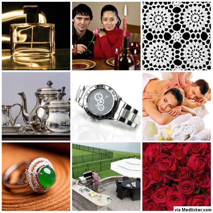 Tipy na dárky k výročí svatby - roky 10 - 18