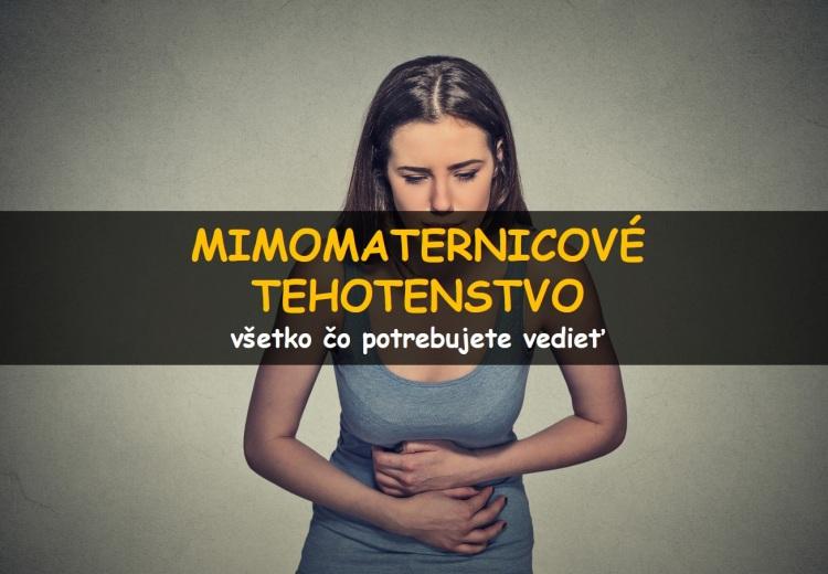 Mimomaternicové (ektopické) tehotenstvo