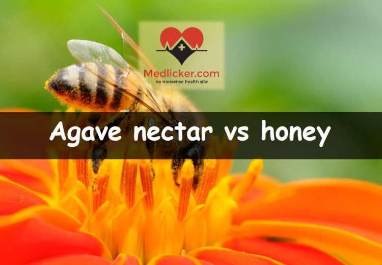 Agave nectar vs honey compared