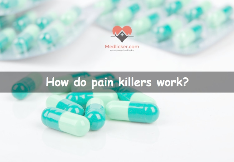 How do pain relievers work?