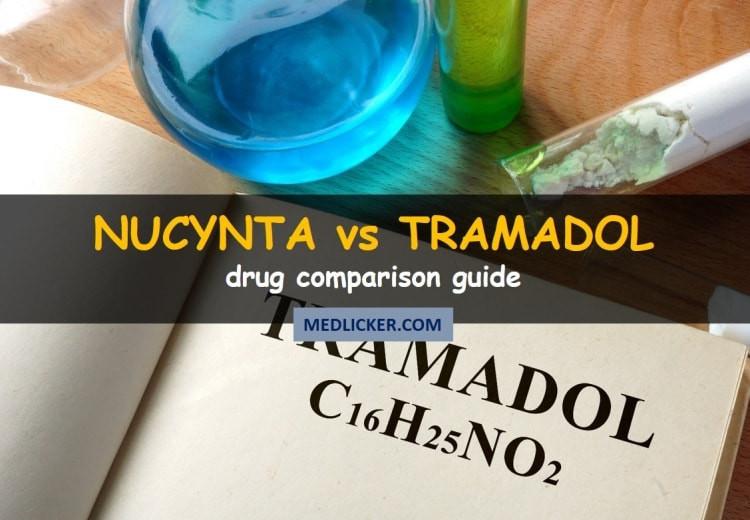 Nucynta vs Tramadol: drug comparison guide