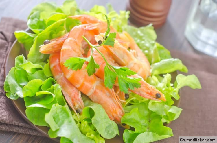 Salát z mořských plodů