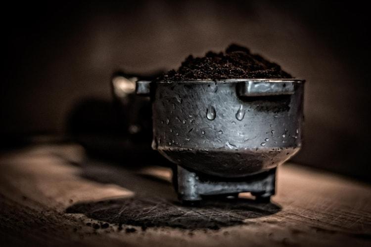 Du café moulu