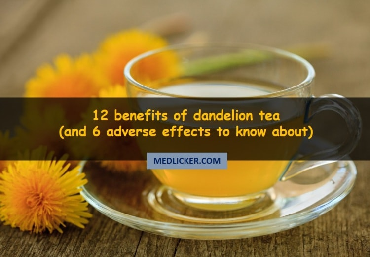 12 Benefits of Dandelion Tea, How to Make It and a Word of Warning