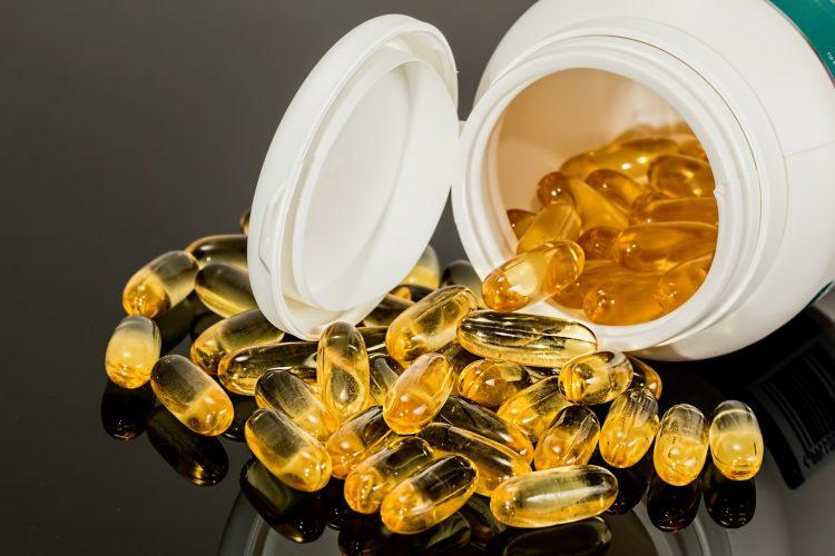 Kapsle s omega 3 mastnými kyselinami