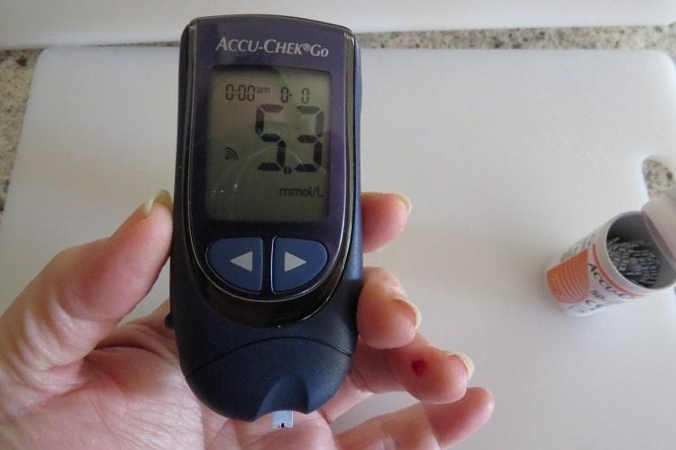 Appareil de mesure de la glycémie