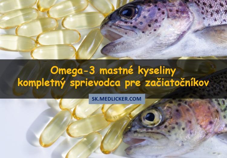 Omega-3 mastné kyseliny - kompletný sprievodca pre začiatočníkov