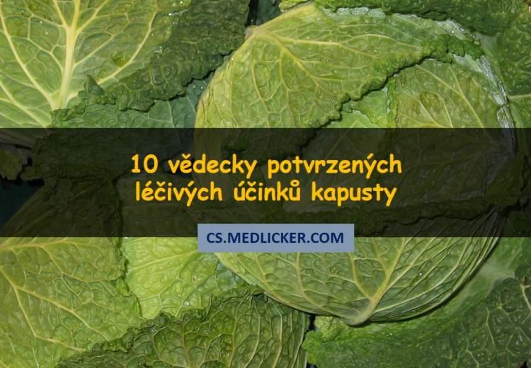 10 léčivých účinků kapusty