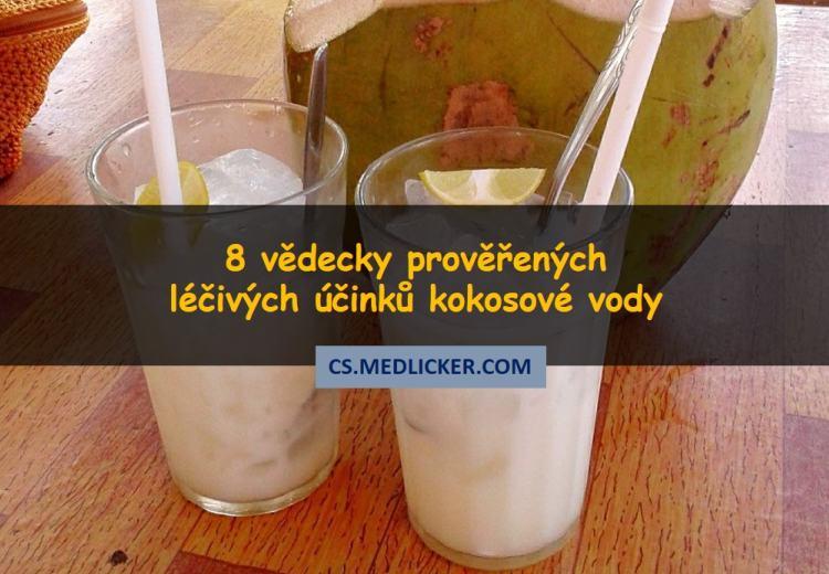 Kokosová voda a její léčivé účinky na zdraví