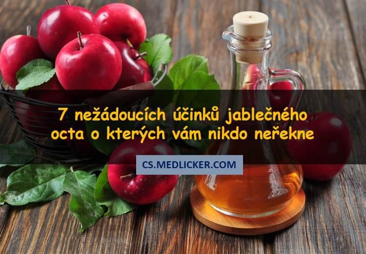 7 nežádoucích účinků spojených s nadměrnou konzumací jablečného octa