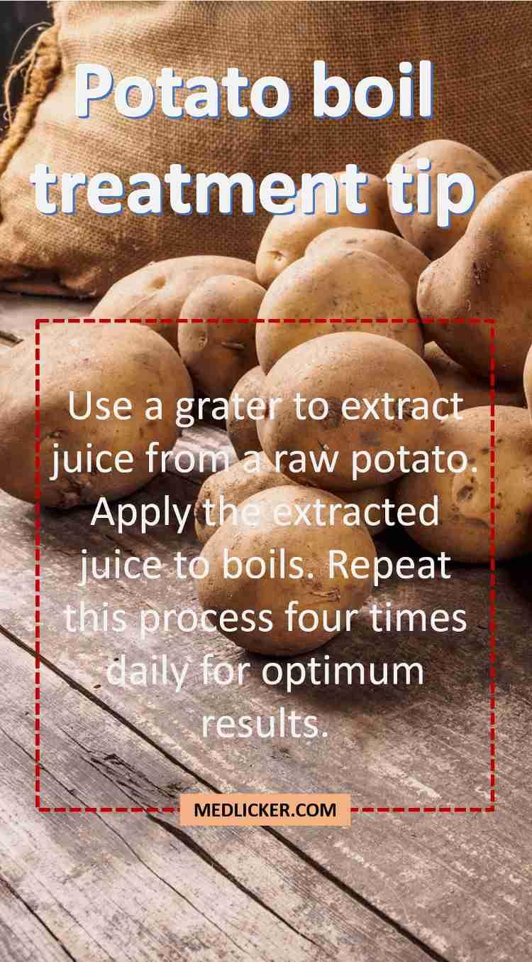 Potato boil treatment tip