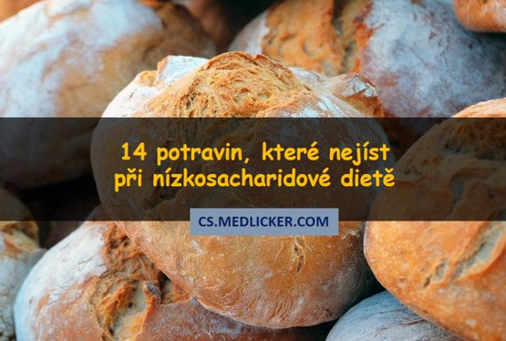 14 potravin, které nejíst při nízkosacharidové dietě