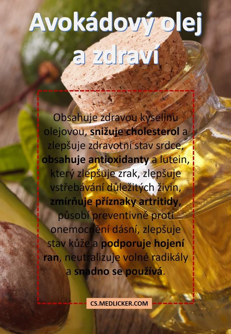 Léčivé účinky avokádového oleje