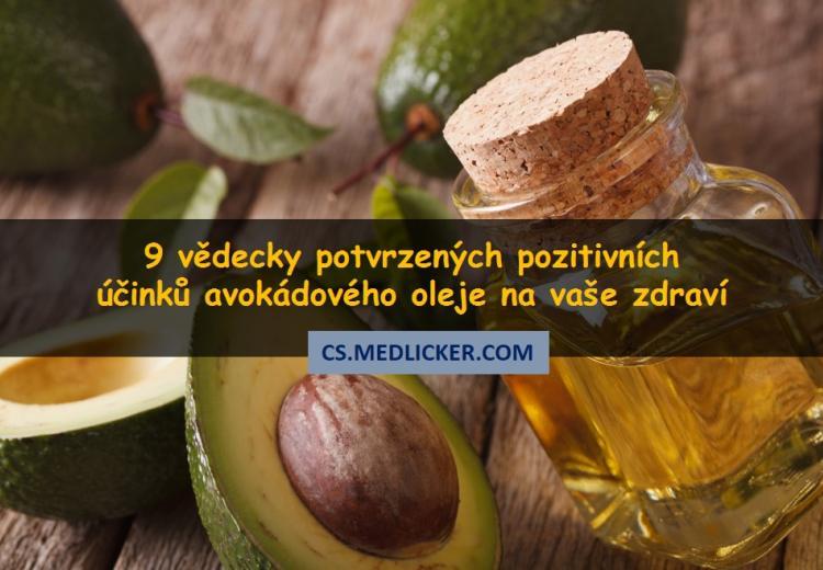 Avokádový olej a zdraví: 9 vědecky potvrzených příznivých účinků