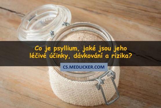 Co je psyllium a jaké jsou jeho léčivé účinky