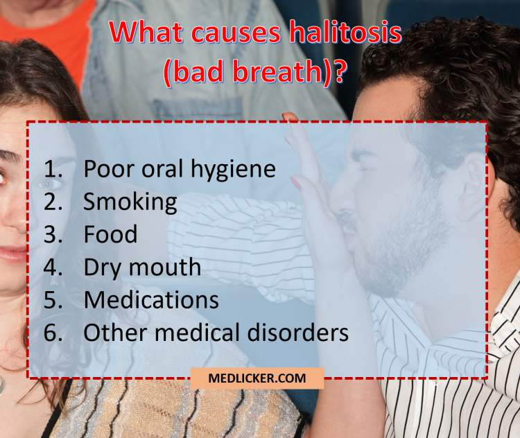 Overview of causes of halitosis