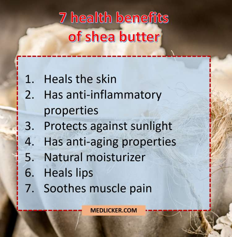 7 benefits of shea butter