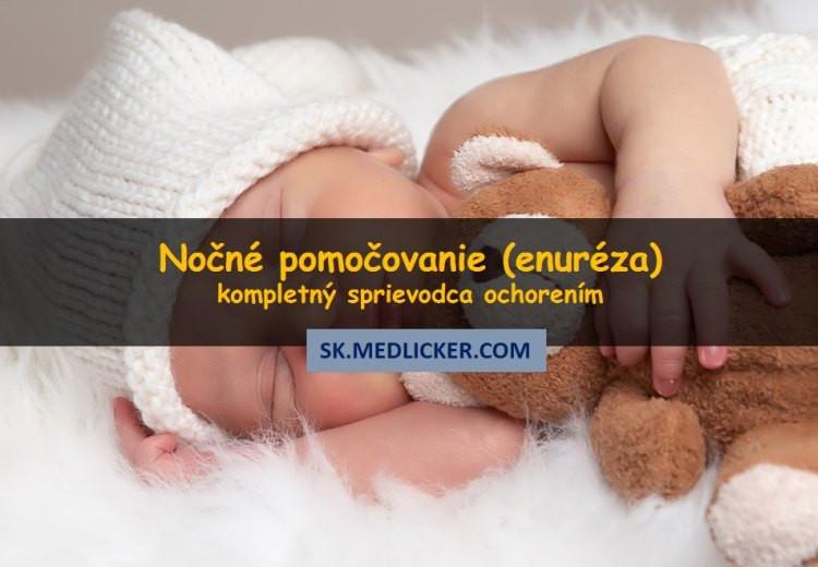 Nočné pocikávanie u detí (enuréza)