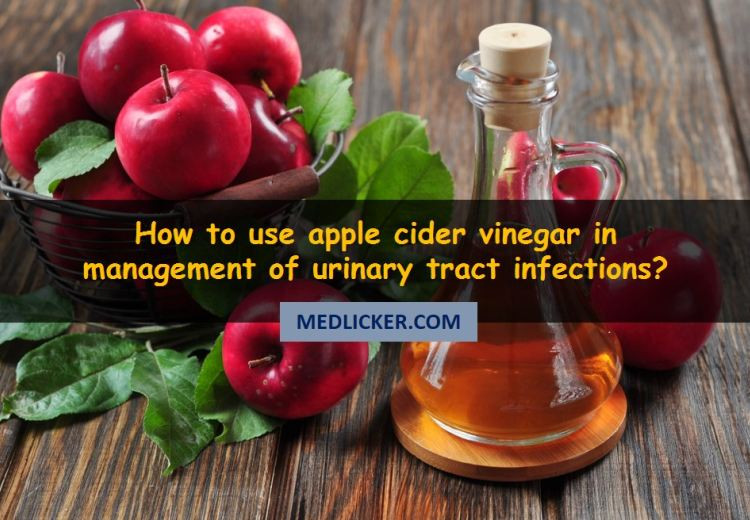 How to Use Apple Cider Vinegar for Urinary Tract Infections?
