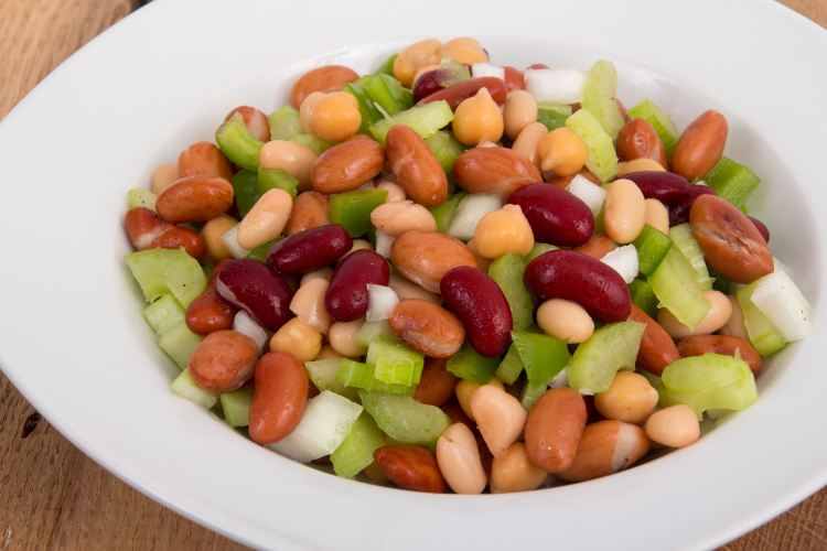 Bean salad may promote your heart health