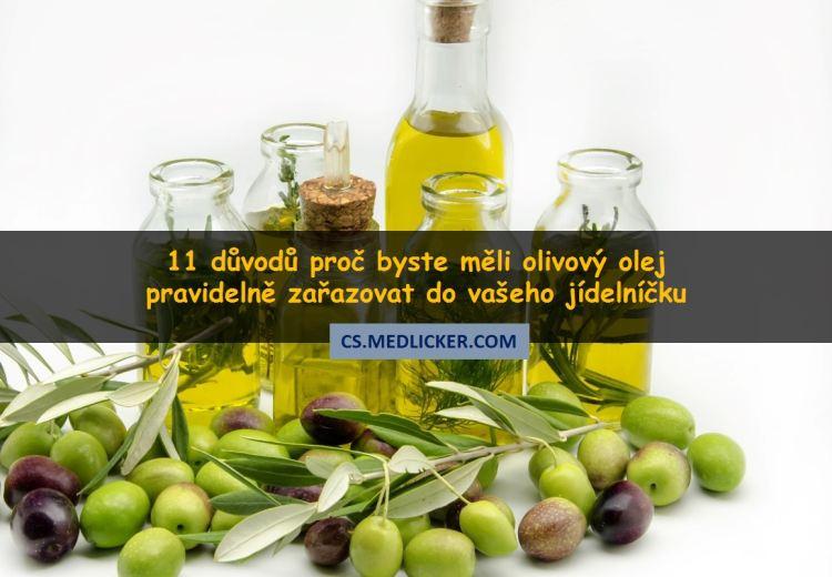 11 léčivých účinků olivového oleje