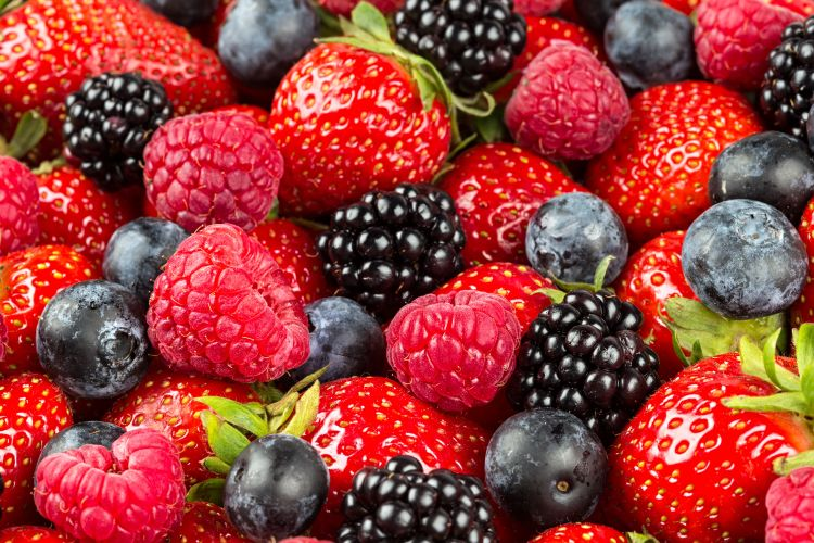 Berries are extremely healthy